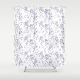 Stanford Pines Pattern Shower Curtain