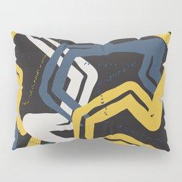 Mustard lines Pillow Sham