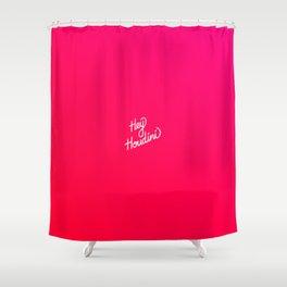 Hey Houdini   [gradient] Shower Curtain