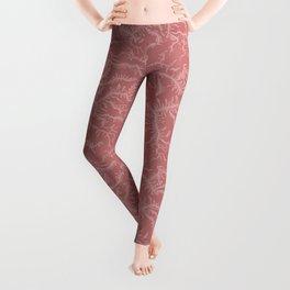 Ferning - Dusty Rose Leggings