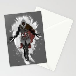Assasins Grey Stationery Cards