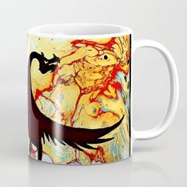 Dragon Flight Burnt Landscape Coffee Mug