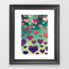 Happy in Love 2 Framed Art Print