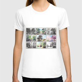 grid Series No.8  Spring Drive T-shirt