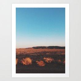 Desert Tranquility Art Print