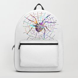Colorful Spider Backpack
