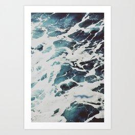 Perfect Ocean Sea Waves Art Print