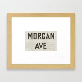 Morgan Avenue Framed Art Print
