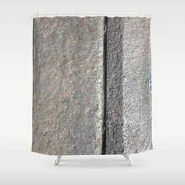 Chanfer Stone. Fashion Textures Shower Curtain
