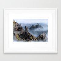 luke hemmings Framed Art Prints featuring Luke  by Aimee Stewart