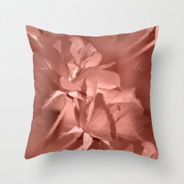 Through Rose Colored Glasses Throw Pillow