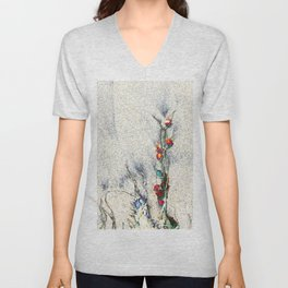 Seaside Arrangement Unisex V-Neck