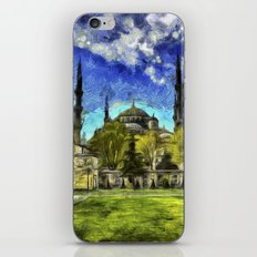Blue Mosque Istanbul Art iPhone & iPod Skin