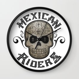 Mexican Riders Wall Clock