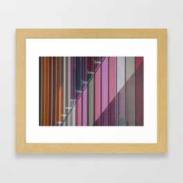 Astract Oxford Framed Art Print