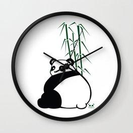 Big Butt Panda Wall Clock
