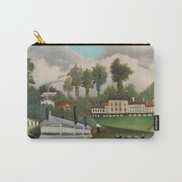 The Laundry Boat of Pont de Charenton Carry-All Pouch