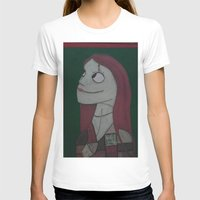 nightmare before christmas T-shirts featuring SALLY/NIGHTMARE BEFORE CHRISTMAS by Kathead Tarot/David Rivera