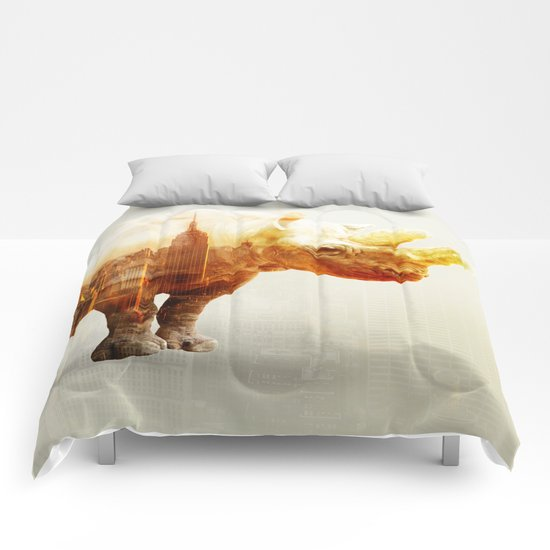 New York Rhyno Comforters