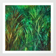 This Grass is Greener Art Print