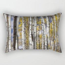 Aspen in the Fall Rectangular Pillow