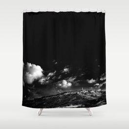 Gnejna A sandy beach in Malta Shower Curtain