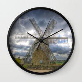 Heage Windmill storm Wall Clock