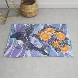 Deep Sea Bloom Rug