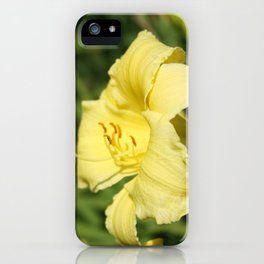 Boilermaker Yellow iPhone Case