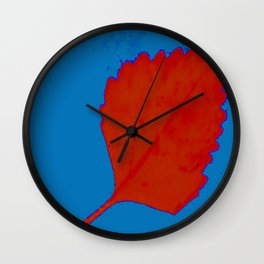BE LIKE A LEAF #9 Wall Clock