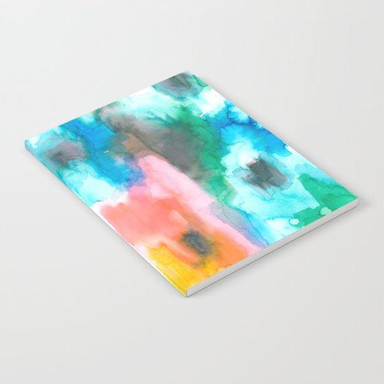 Paradise Watercolor Ikat Notebook