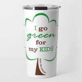 Go Green! Travel Mug