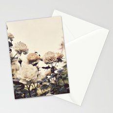 Yellow Rose Garden Stationery Cards