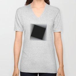 Descending squares -01 Unisex V-Neck