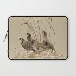 Chukar Partridges Laptop Sleeve