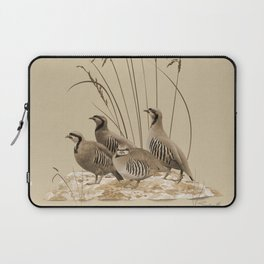 Chukar Partridges Laptop Sleeve