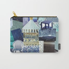 Collage - Feeling Blue Carry-All Pouch