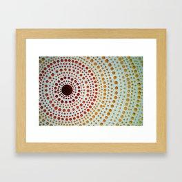 manDOTla Framed Art Print