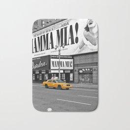 NYC - Yellow Cabs - Musical - High Bath Mat