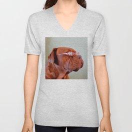 Fashion Dogue de Bordeaux Unisex V-Neck