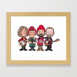 A Killers Holiday Framed Art Print