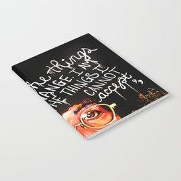 Angela Davis Notebook