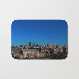 Kansas City Skyline Bath Mat