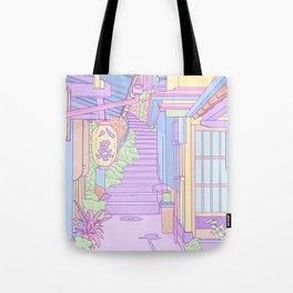 Lost in the Alleys of Japan Tote Bag