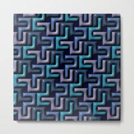 Geometrix LIII Metal Print