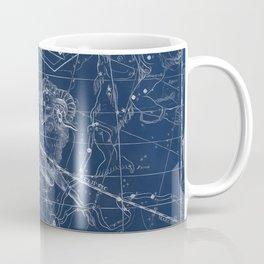 Aries sky star map Coffee Mug