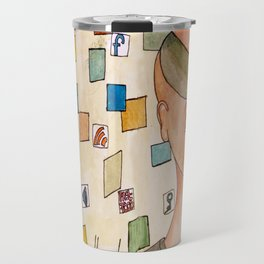 Don´t clutter your head Travel Mug