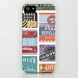 Wizarding Labels iPhone Case