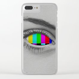 TV Eye Clear iPhone Case