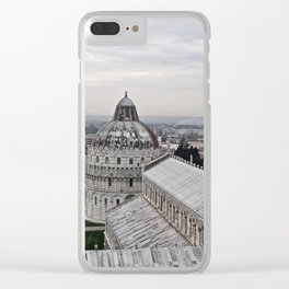 View From The Leaning Tower Clear iPhone Case